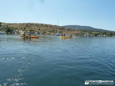 Piragua El Atazar;viajes puente mayo viajes puente de mayo viajes fin de año